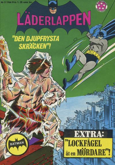 Cover for Läderlappen (Centerförlaget, 1956 series) #9/1966
