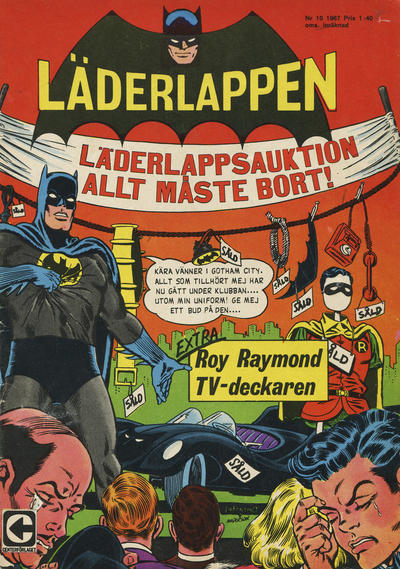 Cover for Läderlappen (Centerförlaget, 1956 series) #10/1967