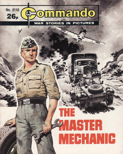 Cover for Commando (D.C. Thomson, 1961 series) #2110