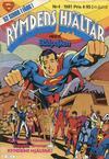 Cover for Rymdens hjältar (Semic, 1980 series) #4/1981