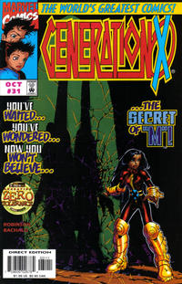 Cover Thumbnail for Generation X (Marvel, 1994 series) #31 [Direct Edition]