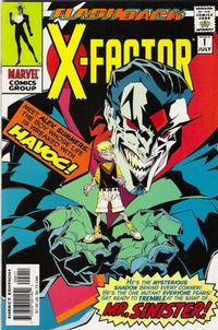 Cover for X-Factor (Marvel, 1986 series) #-1