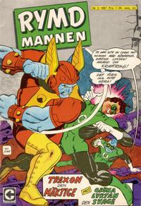 Cover Thumbnail for Rymdmannen (Centerförlaget, 1962 series) #2/1967