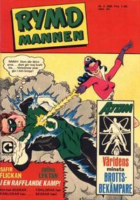 Cover Thumbnail for Rymdmannen (Centerförlaget, 1962 series) #2/1968