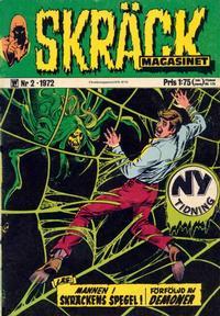 Cover Thumbnail for Skräckmagasinet (Williams Förlags AB, 1972 series) #2/1972