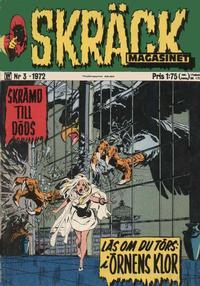 Cover Thumbnail for Skräckmagasinet (Williams Förlags AB, 1972 series) #3/1972