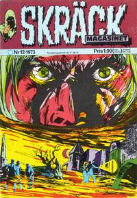 Cover Thumbnail for Skräckmagasinet (Williams Förlags AB, 1972 series) #12/1973