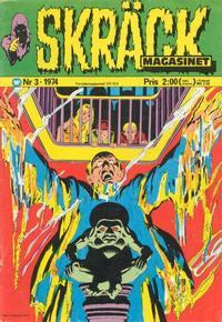 Cover Thumbnail for Skräckmagasinet (Williams Förlags AB, 1972 series) #3/1974
