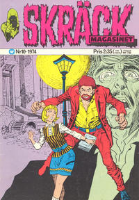 Cover Thumbnail for Skräckmagasinet (Williams Förlags AB, 1972 series) #10/1974