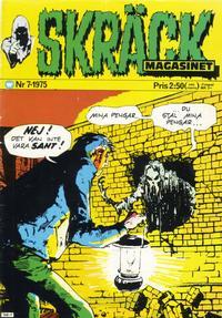Cover Thumbnail for Skräckmagasinet (Williams Förlags AB, 1972 series) #7/1975