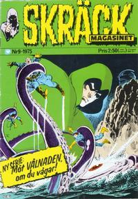 Cover Thumbnail for Skräckmagasinet (Williams Förlags AB, 1972 series) #9/1975