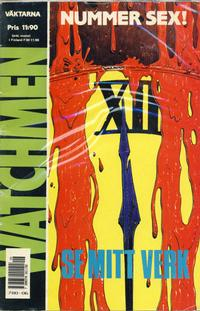 Cover Thumbnail for Watchmen (Semic, 1987 series) #6/1988