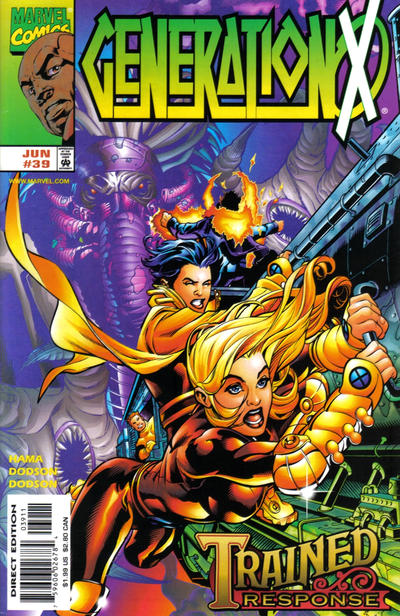 Cover for Generation X (Marvel, 1994 series) #39 [Direct Edition]