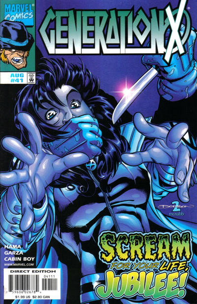 Cover for Generation X (Marvel, 1994 series) #41 [Direct Edition]
