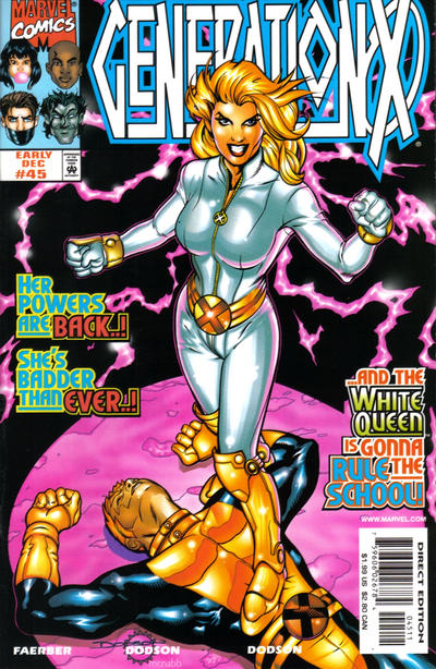 Cover for Generation X (Marvel, 1994 series) #45 [Direct Edition]