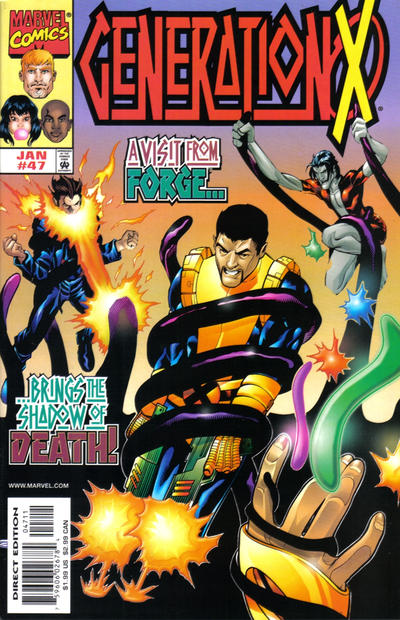 Cover for Generation X (Marvel, 1994 series) #47 [Direct Edition]