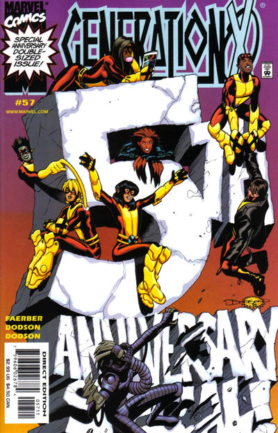 Cover for Generation X (Marvel, 1994 series) #57 [Direct Edition]