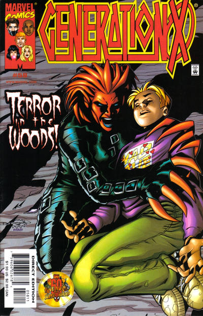 Cover for Generation X (Marvel, 1994 series) #58 [Direct Edition]