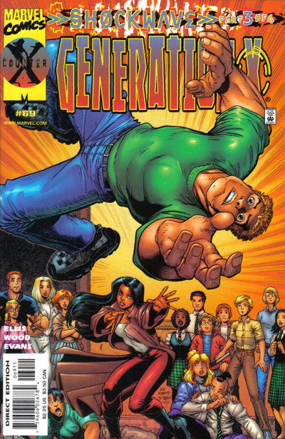 Cover for Generation X (Marvel, 1994 series) #69 [Direct Edition]