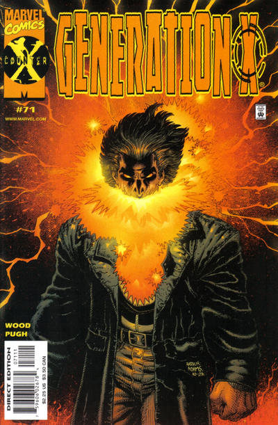 Cover for Generation X (Marvel, 1994 series) #71 [Direct Edition]