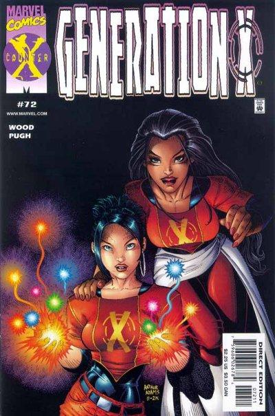 Cover for Generation X (Marvel, 1994 series) #72 [Newsstand Edition]