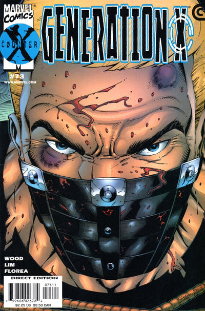 Cover for Generation X (Marvel, 1994 series) #73 [Direct Edition]