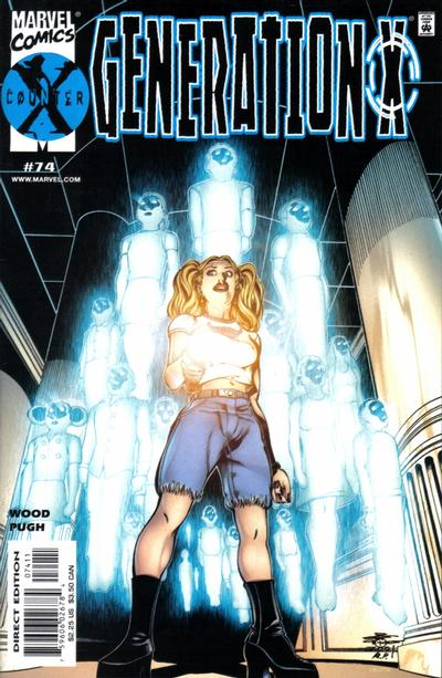 Cover for Generation X (Marvel, 1994 series) #74 [Direct Edition]