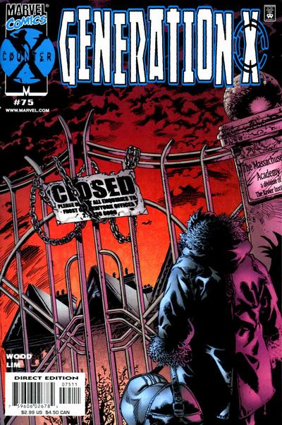 Cover for Generation X (Marvel, 1994 series) #75 [Direct Edition]