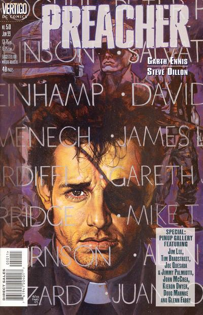 Cover for Preacher (DC, 1995 series) #50