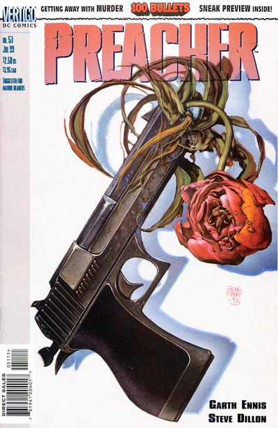 Cover for Preacher (DC, 1995 series) #51