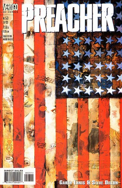 Cover for Preacher (DC, 1995 series) #53