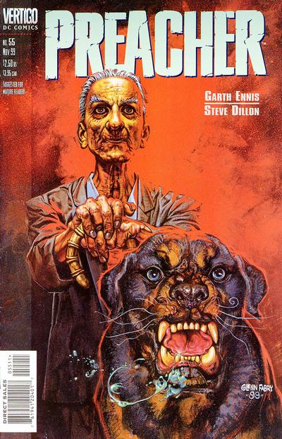 Cover for Preacher (DC, 1995 series) #55