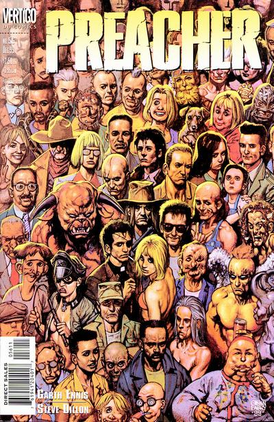Cover for Preacher (DC, 1995 series) #56