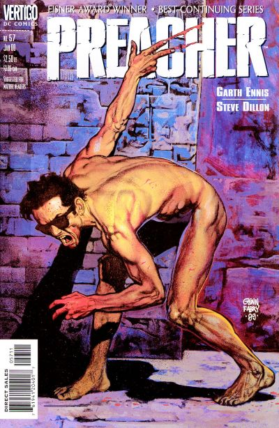Cover for Preacher (DC, 1995 series) #57