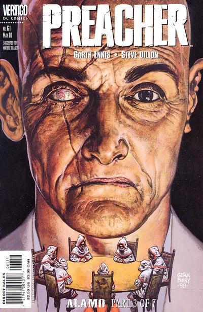 Cover for Preacher (DC, 1995 series) #61