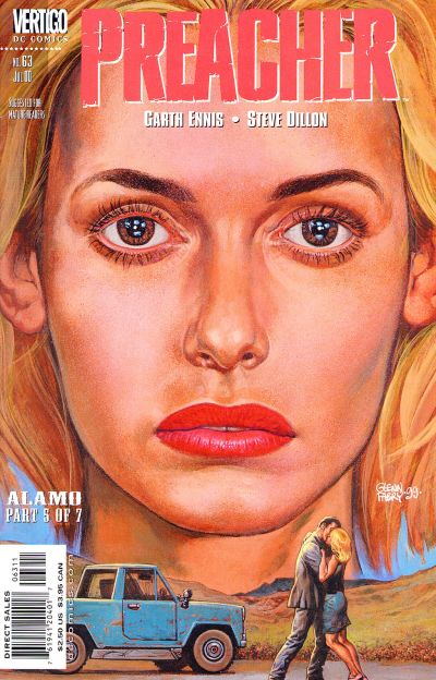 Cover for Preacher (DC, 1995 series) #63