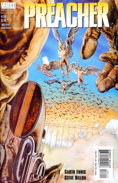 Cover for Preacher (DC, 1995 series) #66