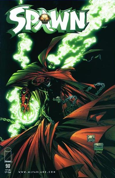 Cover for Spawn (Image, 1992 series) #90