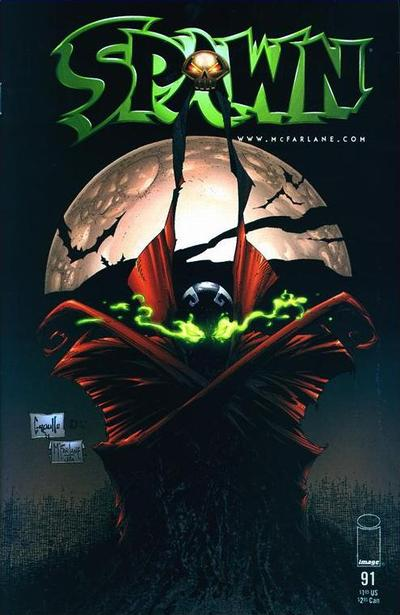 Cover for Spawn (Image, 1992 series) #91