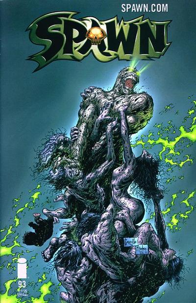 Cover for Spawn (Image, 1992 series) #93