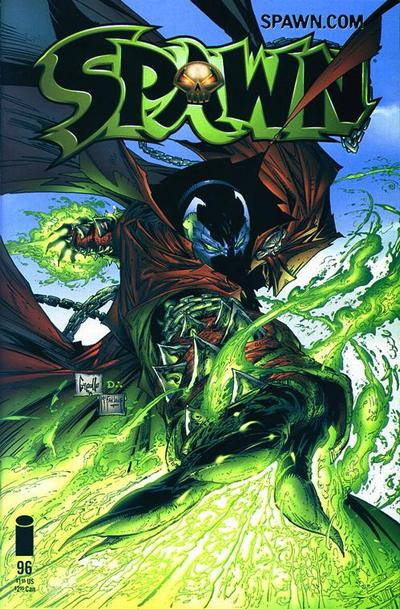 Cover for Spawn (Image, 1992 series) #96