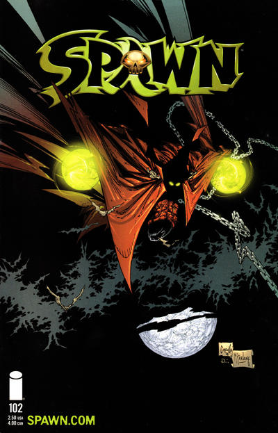 Cover for Spawn (Image, 1992 series) #102