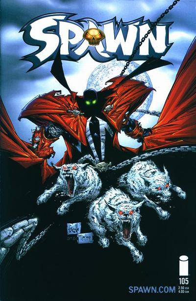 Cover for Spawn (Image, 1992 series) #105