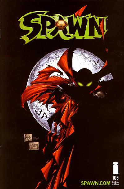 Cover for Spawn (Image, 1992 series) #106