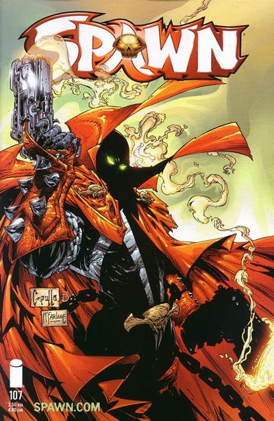 Cover for Spawn (Image, 1992 series) #107