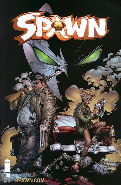 Cover for Spawn (Image, 1992 series) #108
