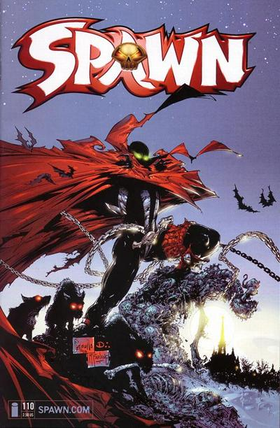 Cover for Spawn (Image, 1992 series) #110