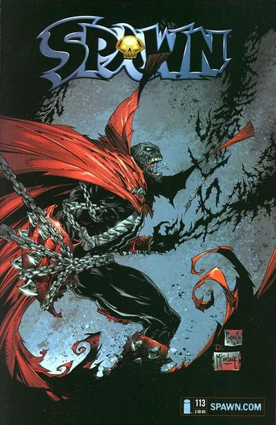 Cover for Spawn (Image, 1992 series) #113