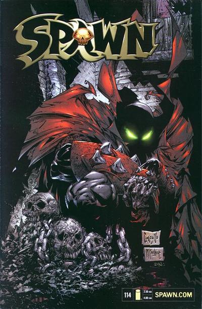 Cover for Spawn (Image, 1992 series) #114