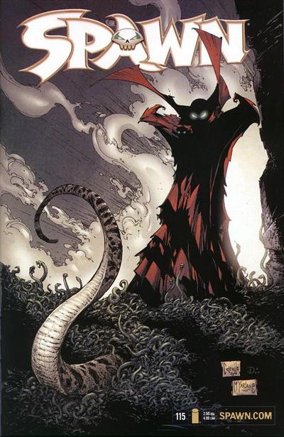 Cover for Spawn (Image, 1992 series) #115